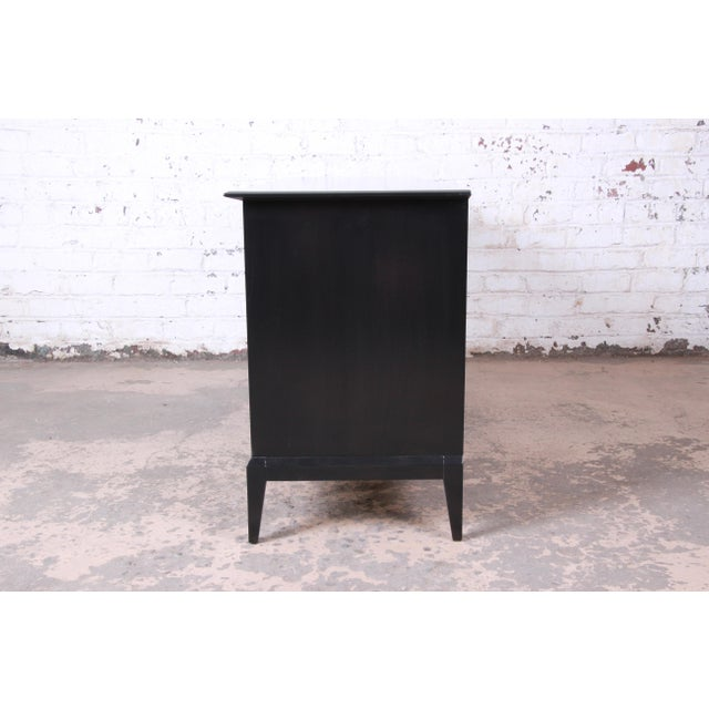 Paul McCobb Style Ebonized Triple Dresser or Credenza by Heywood Wakefield For Sale - Image 11 of 13