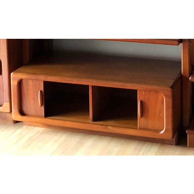 Mid-Century Dyrlund Danish Solid Teak Wall Cabinet For Sale - Image 11 of 13