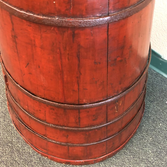 Antique Chinese Toddler Chair Low Stool For Sale In San Francisco - Image 6 of 9