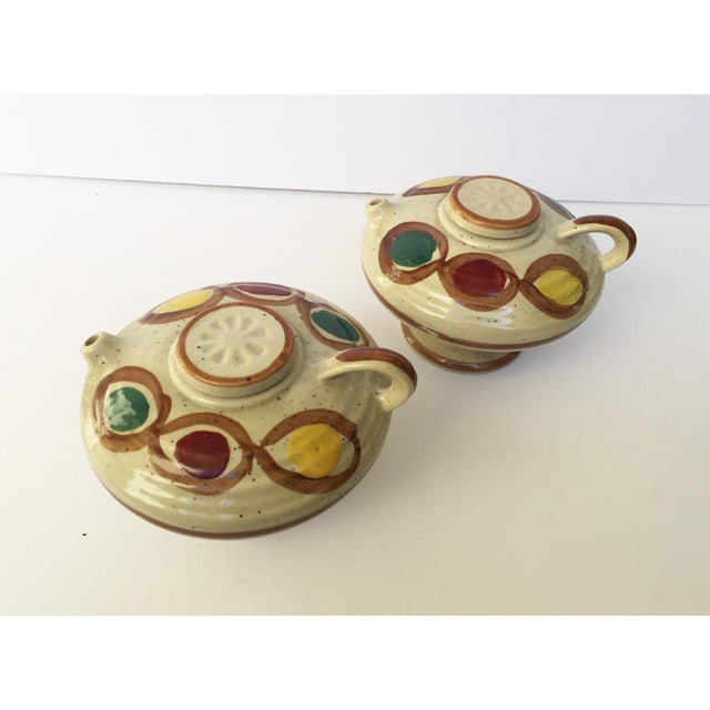 Vintage Japanese Sauce Containers - A Pair - Image 9 of 11