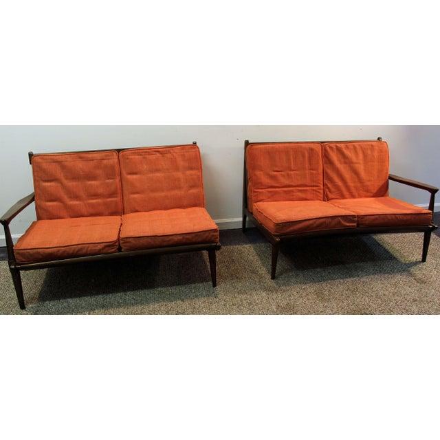 Mid-Century Danish Modern Two Piece Sectional Sofa