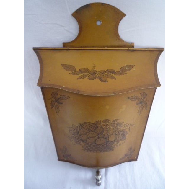 Vintage French Tole Painted Lavabo - Image 3 of 6