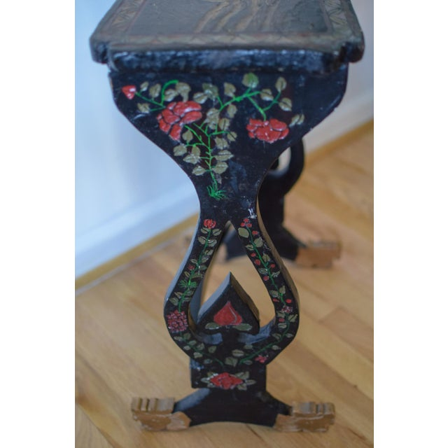 Asian 20th Century Asian Handprinted Stacking Tables - Set of 3 For Sale - Image 3 of 12