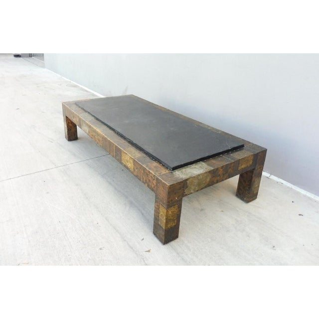 Directional 1970's Directional Paul Evans Patchwork Coffee Table For Sale - Image 4 of 9