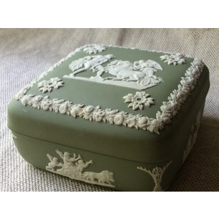 1930s Neoclassical Antique Wedgewood Covered Box Preview