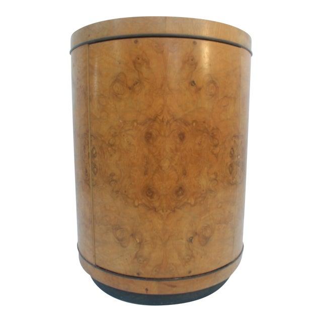1970s Milo Baughman Burl Wood Side Table - Image 1 of 8