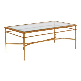 Kenneth Ludwig Chicago Madeline Golf Leaf Coffee Table For Sale