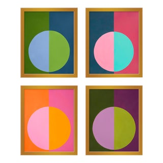 """Large """"Forevers Set of 4"""" Prints by Stephanie Henderson, 34"""" X 42"""" For Sale"""