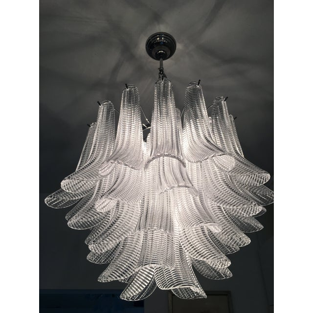 "Modern Murano Glass ""Selle"" Sputnik Chandelier For Sale - Image 11 of 11"