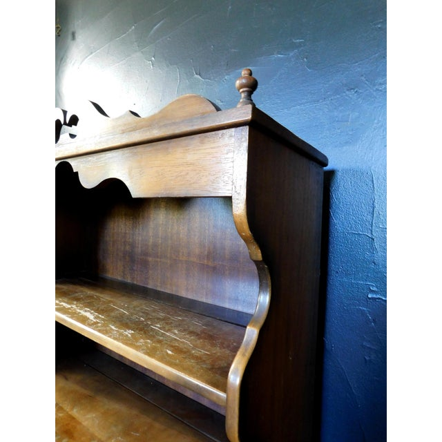 Wood Rustic Casita Wooden Hutch For Sale - Image 7 of 11