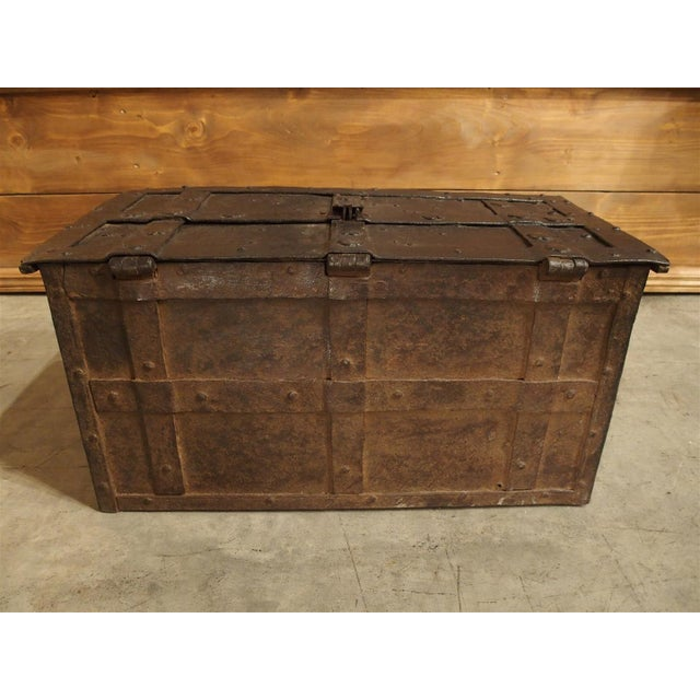 17th Century 17th Century Iron Strongbox from a Ship For Sale - Image 5 of 11