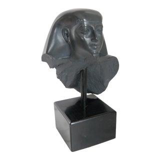 Vintage Egyptian Bust Statue King Tut For Sale