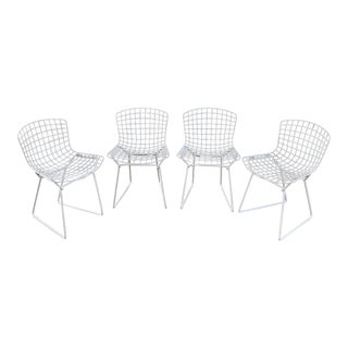 1960s Original Knoll Children's Harry Bertoia Chairs- Set of 4 For Sale