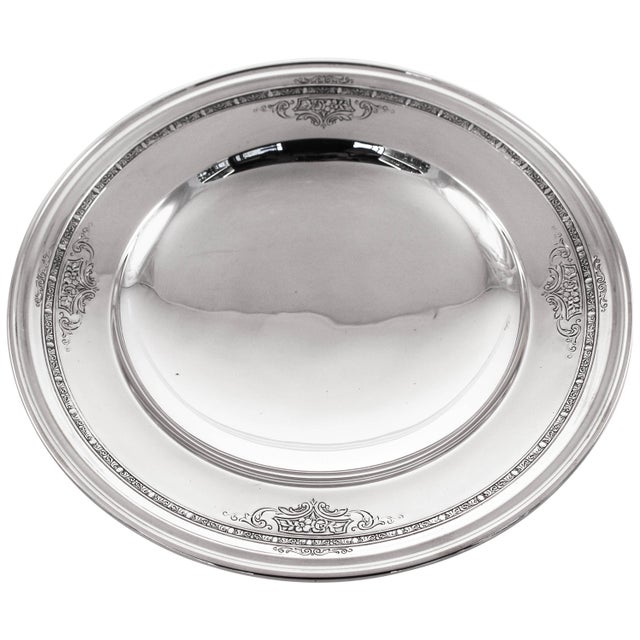 Silver Sterling Lady Constance Tazza For Sale - Image 8 of 8