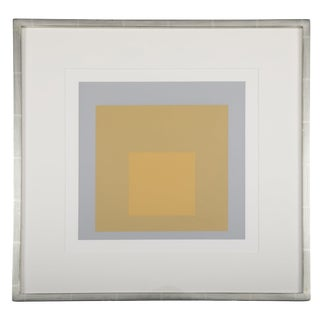 Josef Albers From Formulation: Articulation, Folio II / Folder 4 Print For Sale