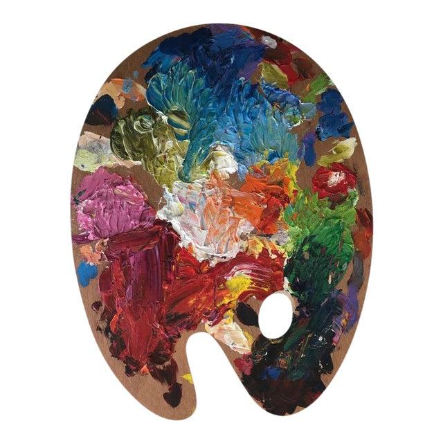 Vintage Artist Color Palette For Sale