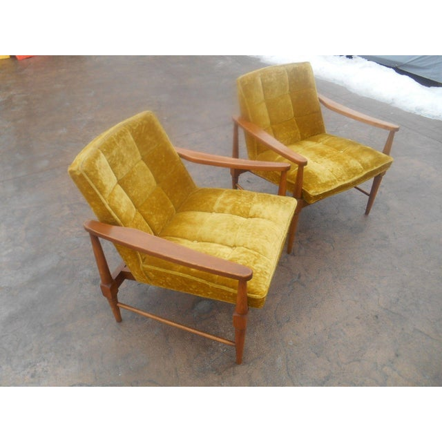 Danish Modern Vintage Mid-Century Danish Modern Lounge Chairs- a Pair For Sale - Image 3 of 10