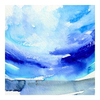 Oceanscape Original Watercolor Painting