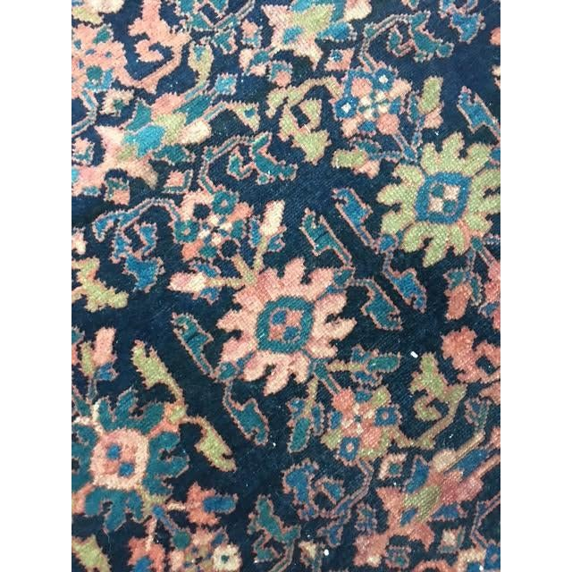"Antique Persian Hamadan Rug - 5'4"" X 6' - Image 4 of 10"