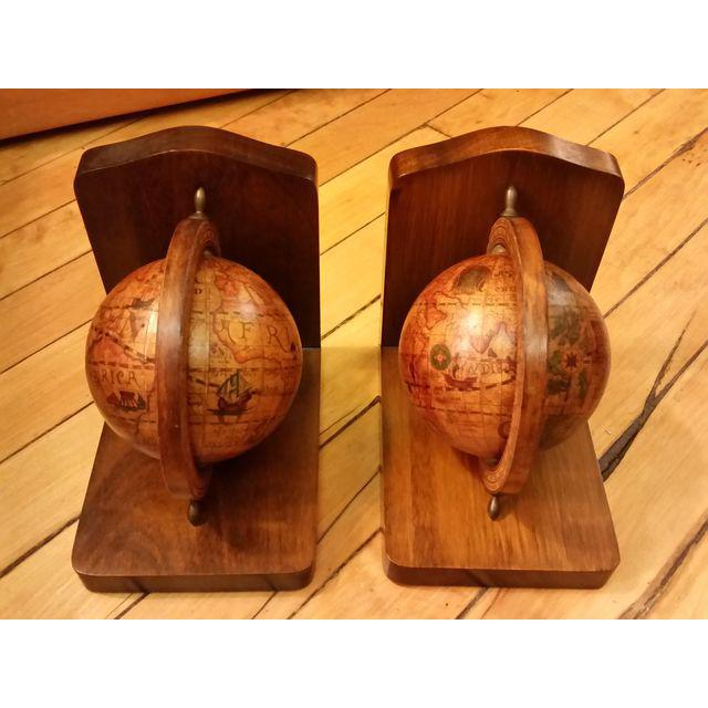 Olde World Globe Bookends - A Pair - Image 3 of 9
