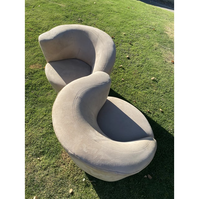 Presenting Kagan Style swivel chairs. These would look great in a modern home. 33.5ʺW × 34ʺD × 28.5ʺH ContemporaryMid-...