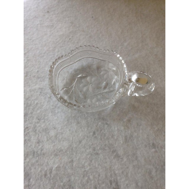 Vintage Cut Glass Condiment Dish - Image 2 of 5