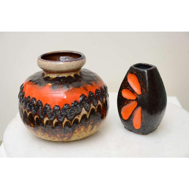 Two Ceramic German Textural Vases/Vessels/Objects - Image 7 of 10