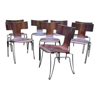 Anziano Dining Chairs by John Hutton for Donghia