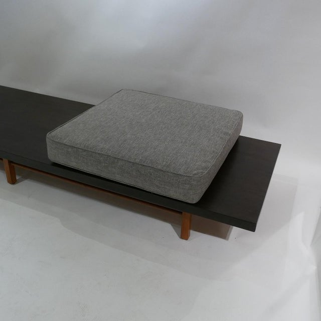 Brown Milo Baughman for Thayer Coggin Low Table or Gallery Bench With Cushions For Sale - Image 8 of 13