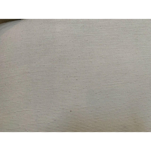 Custom Fainting Couch With Left Arm Rest and Textured Fabric For Sale - Image 12 of 12