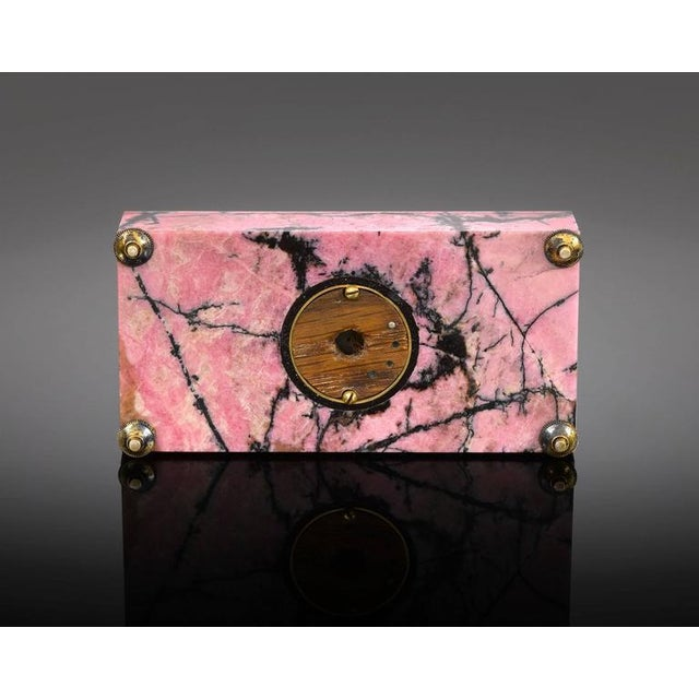 Hollywood Regency Faberge Rhodonite Bell Push For Sale - Image 3 of 4