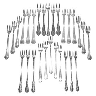 Vintage Cocktail Forks - Set of 28