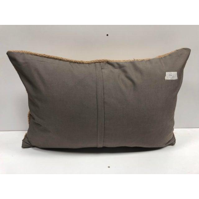 Turkish Handmade Decorative Kilim Pillow For Sale - Image 4 of 6