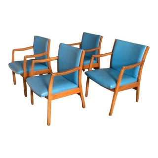 Vintage Mid-Century Dining Chairs- Set of 2 For Sale