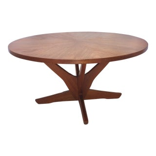 Vintage Soren Georg Jensen Teak Coffee Table Danish Modern