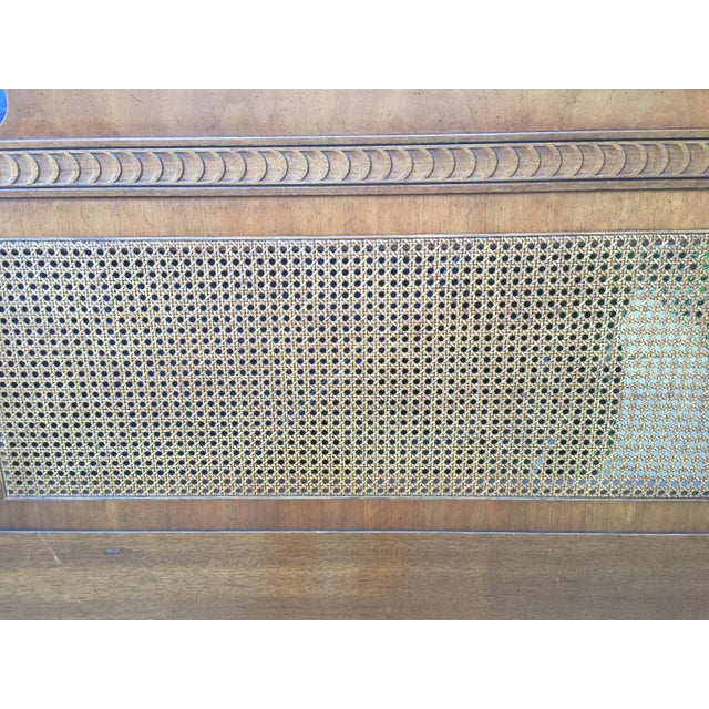 1970s Federal Style Henredon King Size Headboard For Sale - Image 9 of 12