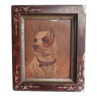 19th Century Dog Print For Sale