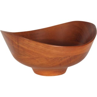 Teak Salad Bowl by Finn Juhl for Kay Bojesen