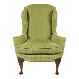 19th Century George II Style Wingback Chair For Sale