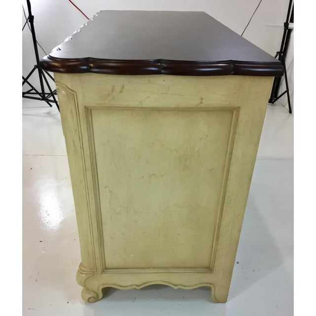 Hickory Chair Furniture Company French Country Style Cream Normandy Chest By: Hickory Chair For Sale - Image 4 of 7