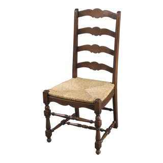 Dining Chair French Country Turned Leg Oak For Sale