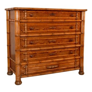 19th C. French Chest of Drawers For Sale