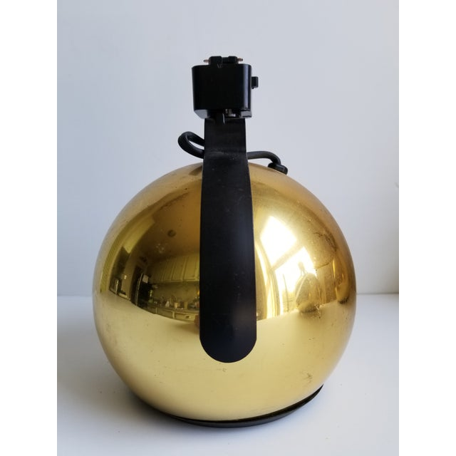 Mid-Century Modern Juno Brass Track Lights - Set of 3 - Image 4 of 11