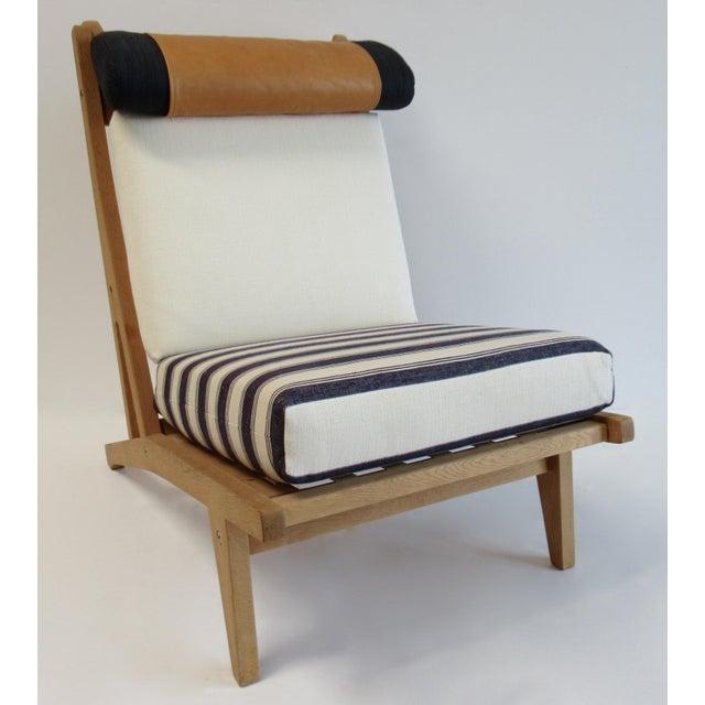 "GETAMA Circa 1960's Hans J. Wegner Denmark ""Getama"" Lounge Chairs- a Pair For Sale - Image 4 of 13"