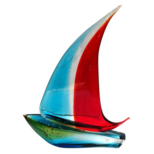 Sailboat Sculpture by Sergio Costantini For Sale In Palm Springs - Image 6 of 6