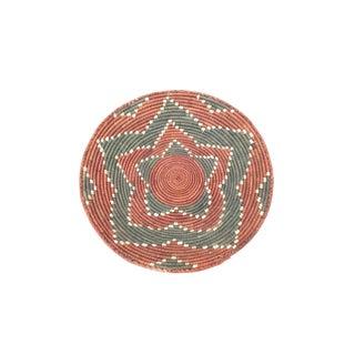 Vintage Southwestern Coil Basket For Sale