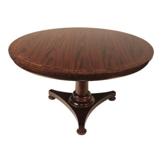 Regency Rosewood Round Table