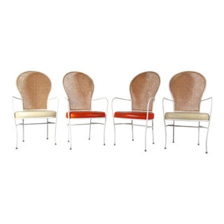 Milo Baughman Highback Dining Chairs for Thayer Coggin