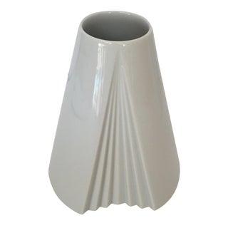 Rosenthal White Polished Glaze White Vase