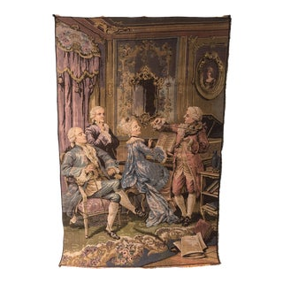 Mid 20th Century French Tapestry Wall Hanging For Sale